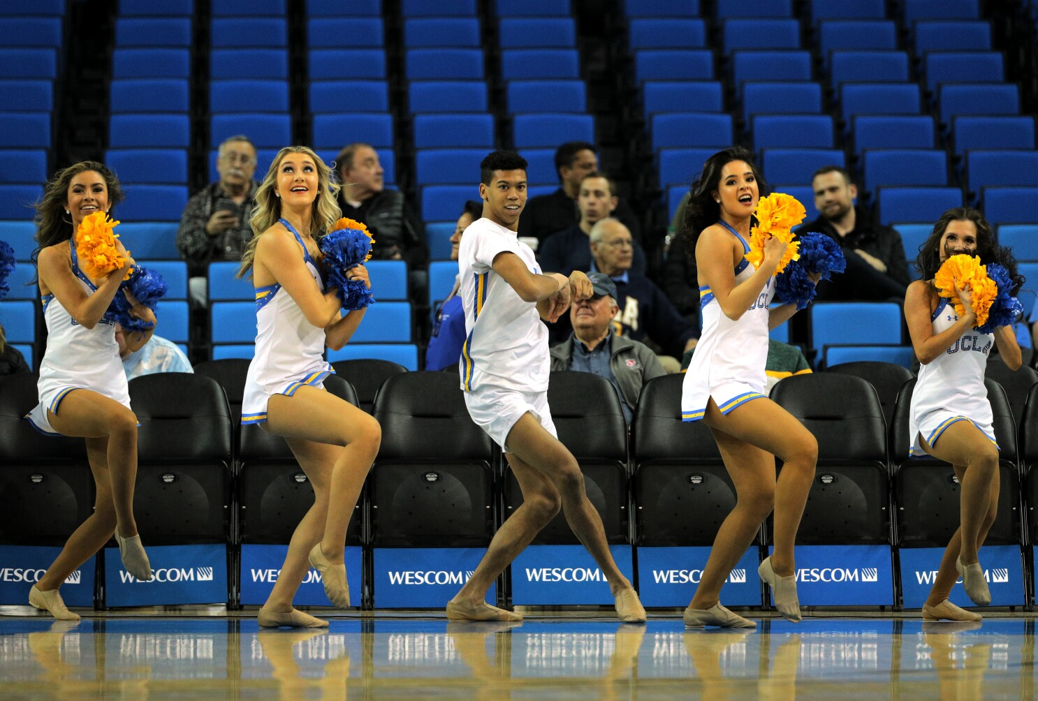 Devin Mallory Is Doing What He Loves As First Male On Ucla S Dance
