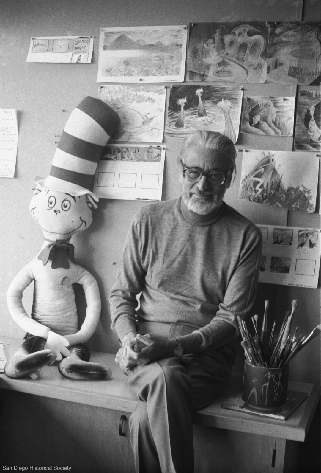 Theodor Geisel, better known as Dr. Seuss.