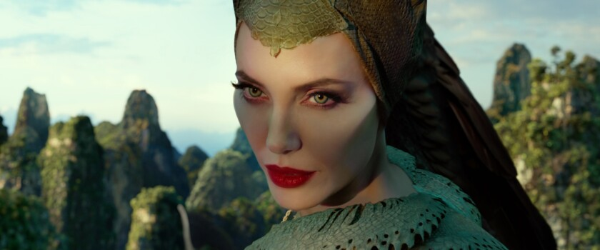 Angelina Jolie in 'Maleficent: Mistress of Evil'