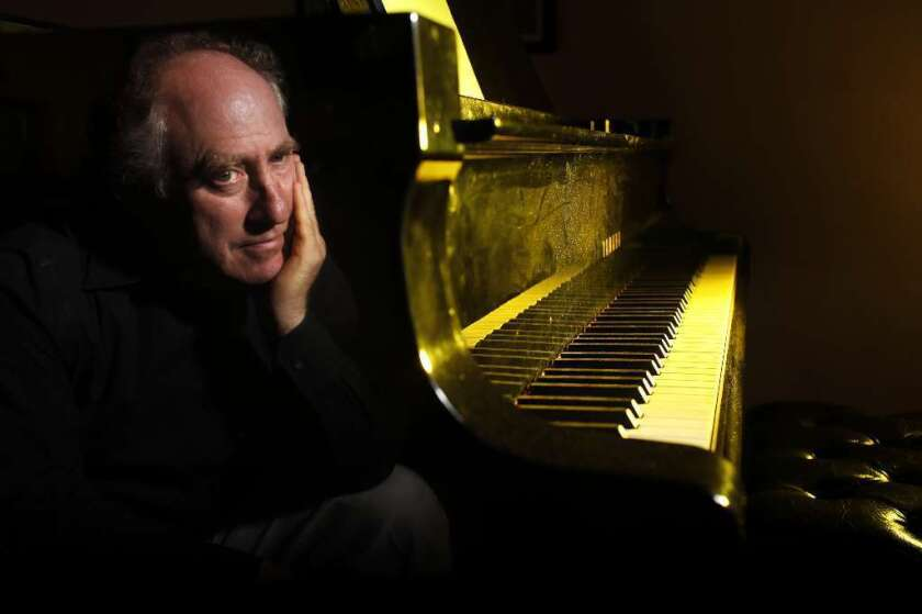 Jeffrey Kahane, music director of the Los Angeles Chamber Orchestra, at his Santa Rosa home in 2011.