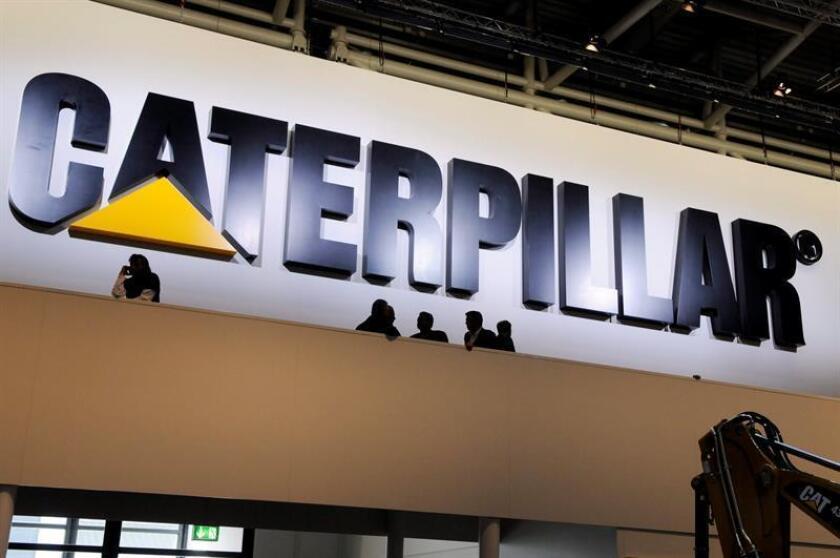 El grupo de equipos industriales Caterpillar informó hoy de que en el primer trimestre de este año su beneficio neto alcanzó los 1.665 millones de dólares, frente a los 192 millones del mismo período del año pasado. EFE/Archivo
