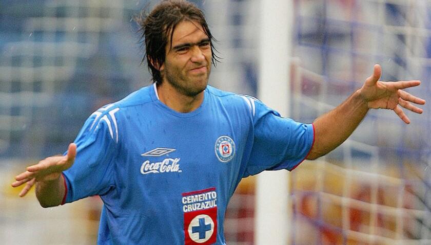 César 'Chelito' Delgado fue figura del Cruz Azul en la década pasada.