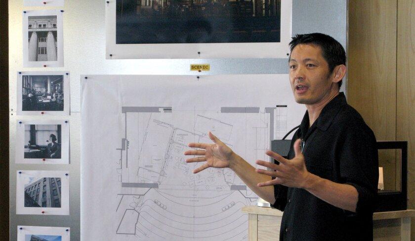UCSD grad Robert Brill, a Tony Award-nominated set designer, is La Jolla Playhouse's inaugural artist in residence.