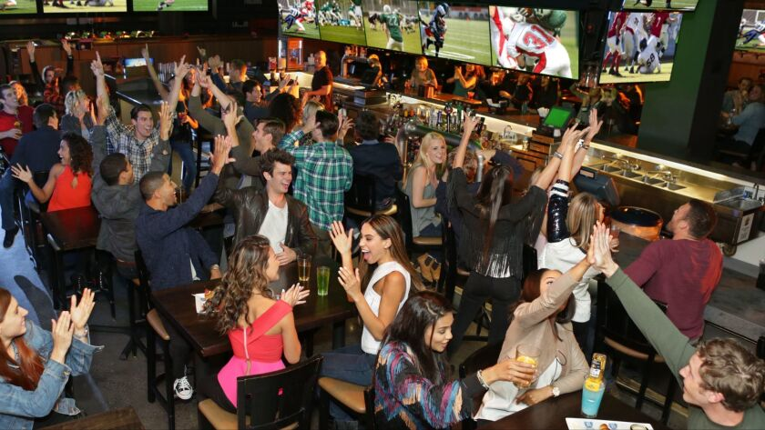Celebrate Super Bowl Sunday at various locations around San Diego County, including Dave & Buster's in Carlsbad. Drink and food specials are on the roster.