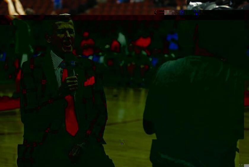En la imagen, el reportero de la NBA Craig Sager. EFE/Archivo