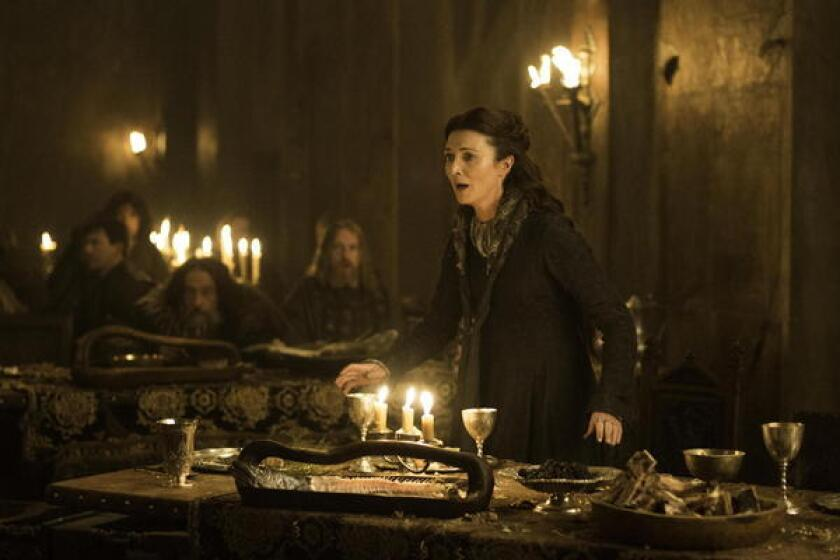"""Michelle Fairley stars as Catelyn Stark on """"Game of Thrones."""""""