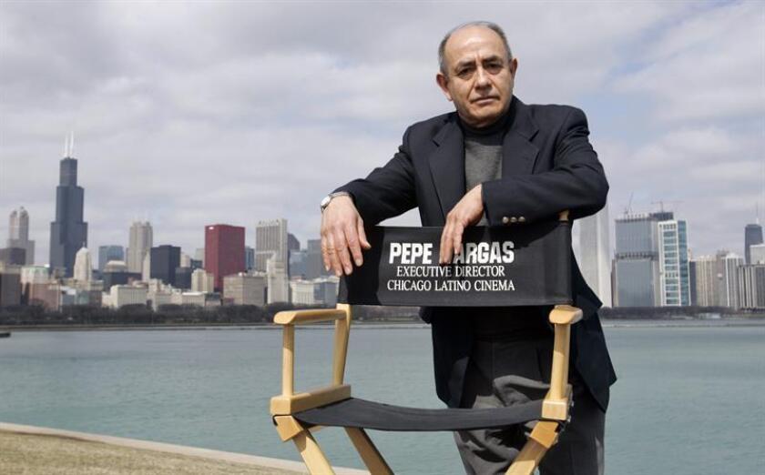 Pepe Vargas, director del Centro Internacional de Cultura Latina que organiza el Festival de Cine Latino de Chicago. EFE/Archivo