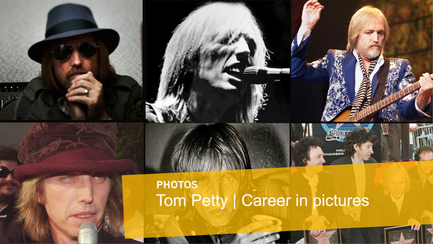 Tom Petty | Career in pictures
