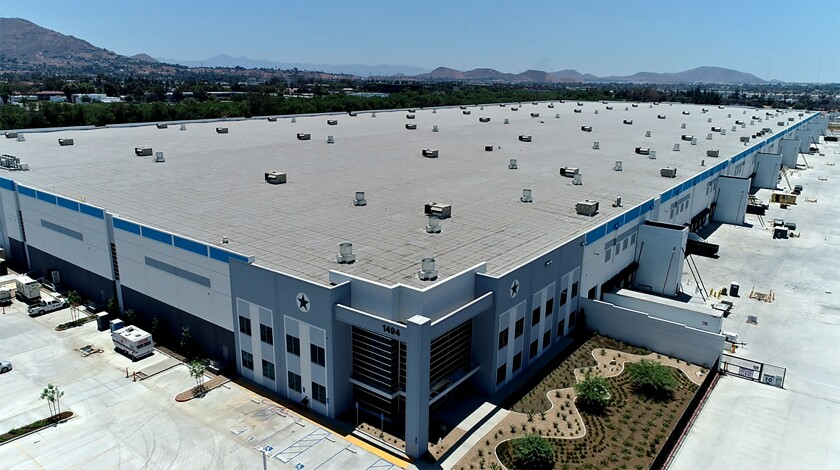 This 2-million-square-foot warehouse in Riverside is said to be part of a $2-billion real estate deal.