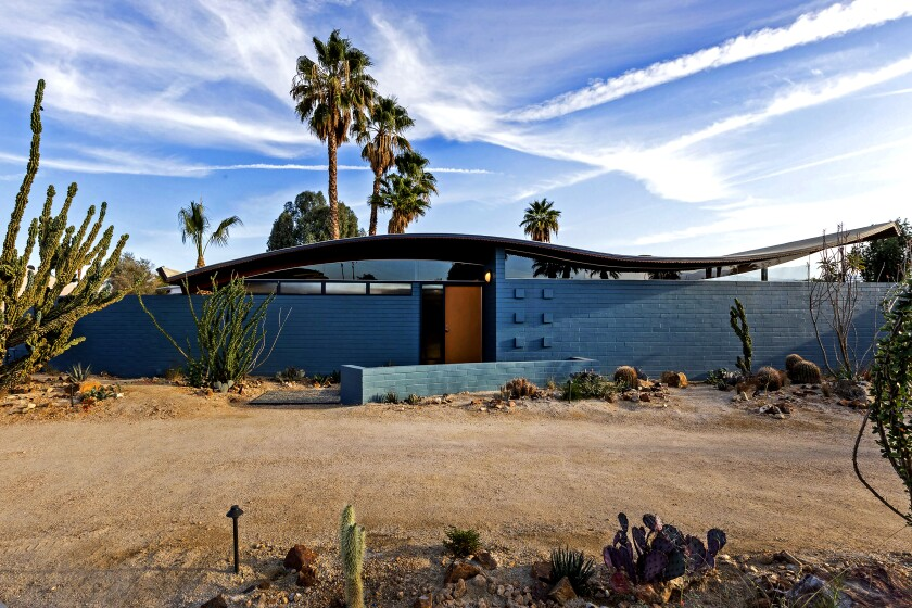 Modernism special | Miles C. Bates' iconic Wave House finds new life in Palm Desert