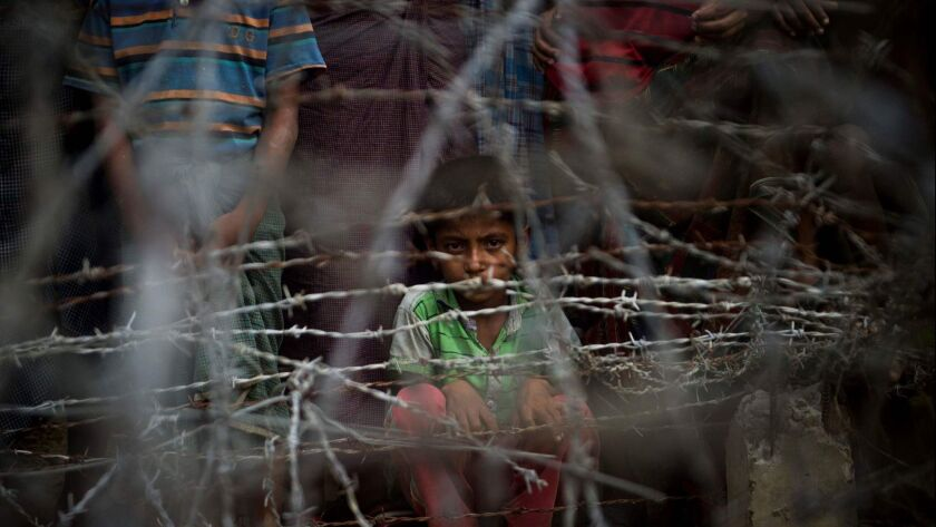 MYANMAR-BANGLADESH-REFUGEE-UNREST-ROHINGYA-AFP PICTURES OF THE Y