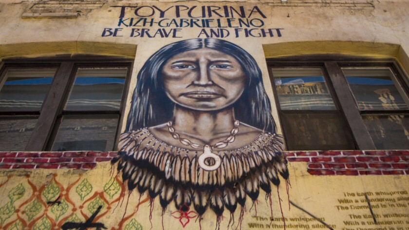 California Indian mural