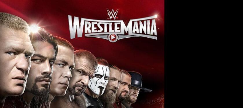 WrestleMania is here.