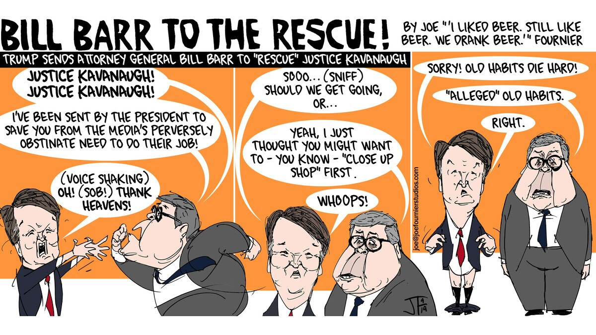 Bill Barr to the rescue!