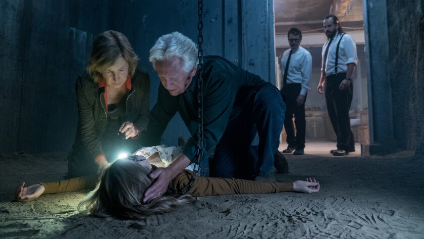 Review Lin Shaye Is A Scream But Insidious The Last Key Doesn T Click Los Angeles Times