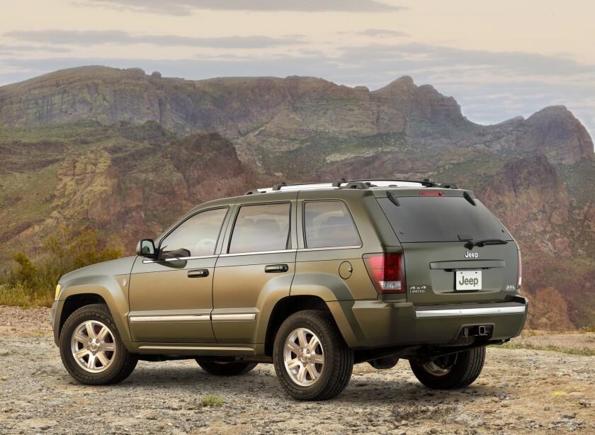 2008 Jeep Grand Cherokee Limited Diesel