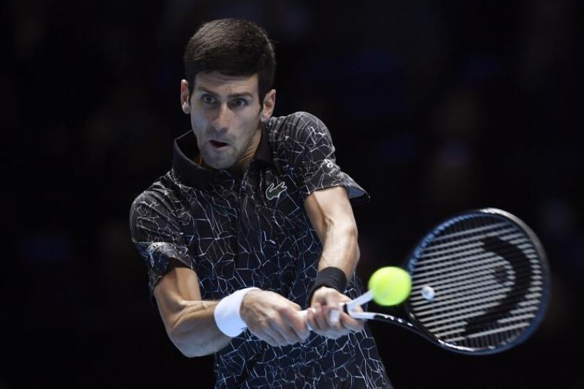 El tenista serbio Novak Djokovic. EFE/Archivo