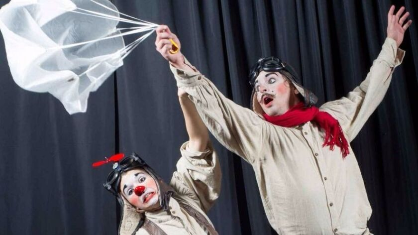 """A Little Bit Off theater troupe presents """"Beau & Aero"""" at the 2017 San Diego International Fringe Fe"""