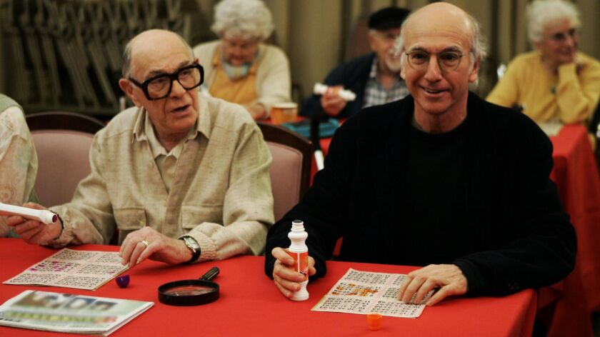 """Shelley Berman and Larry David on """"Curb Your Enthusiasm."""""""