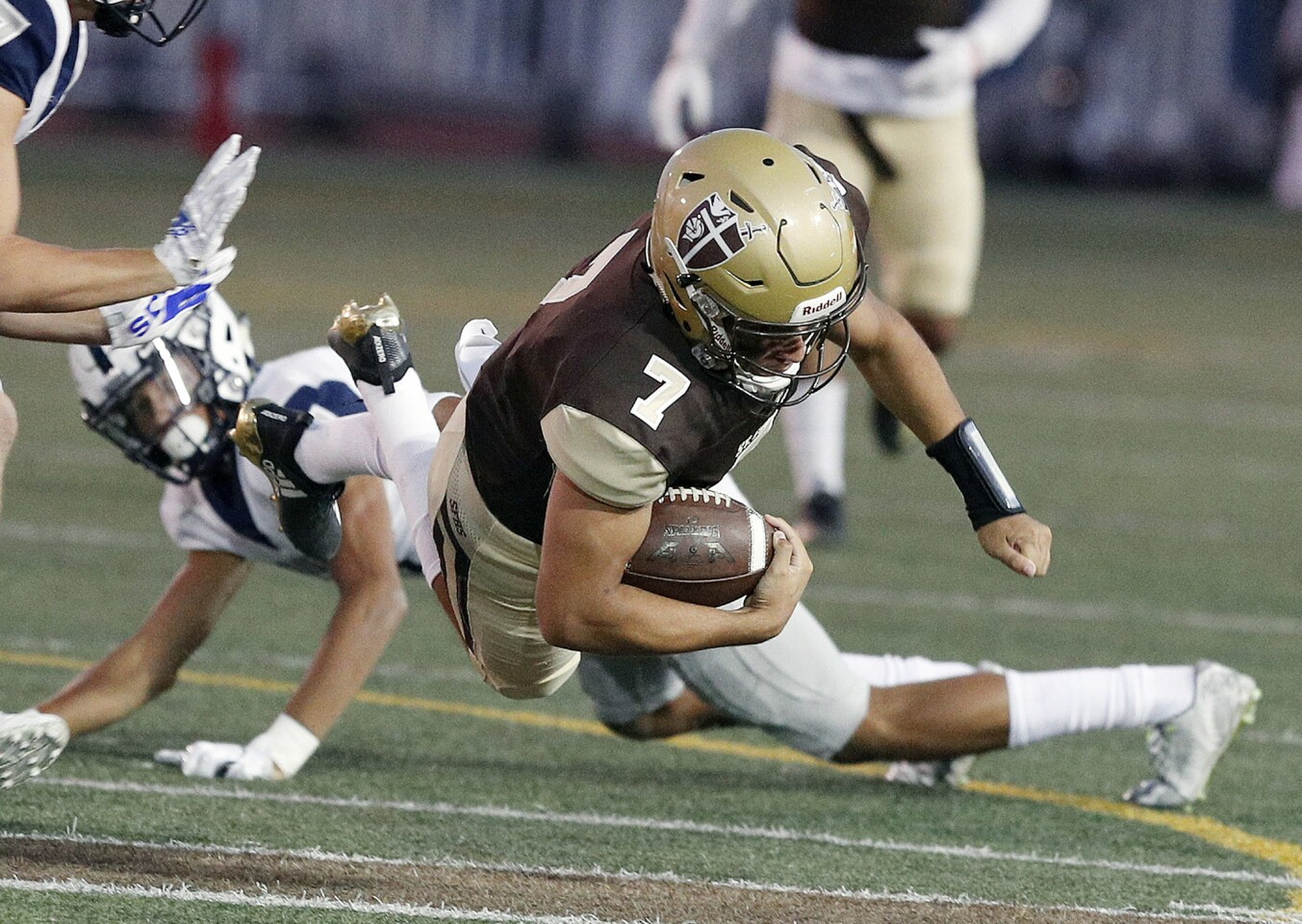 Photo Gallery: St. Francis vs. Saugus in non-league home football game