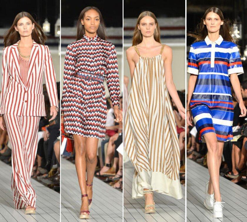 New York Fashion Week spring-summer 2013: Tommy Hilfiger women's