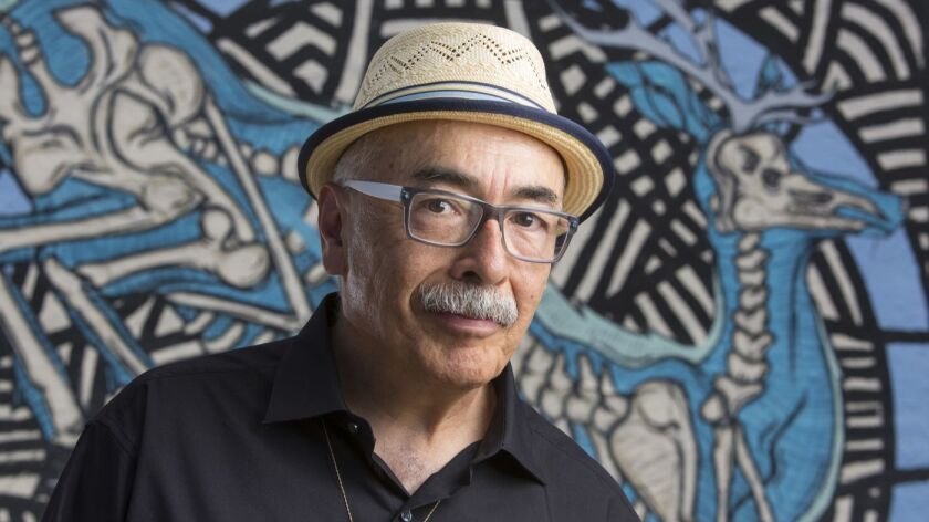 """In terms of my writing,"" said poet Juan Felipe Herrera, ""I want to write about hope."""