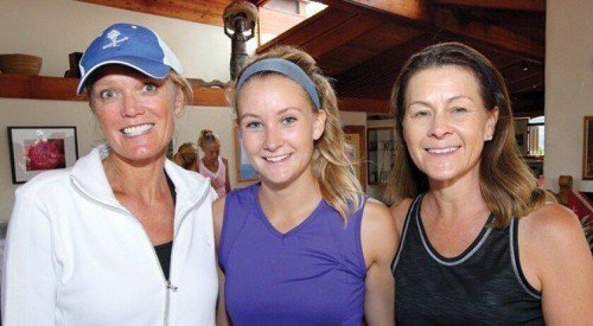 Sally Wright, Skylar Brown, Nancy Brown (Photos: Jon Clark)
