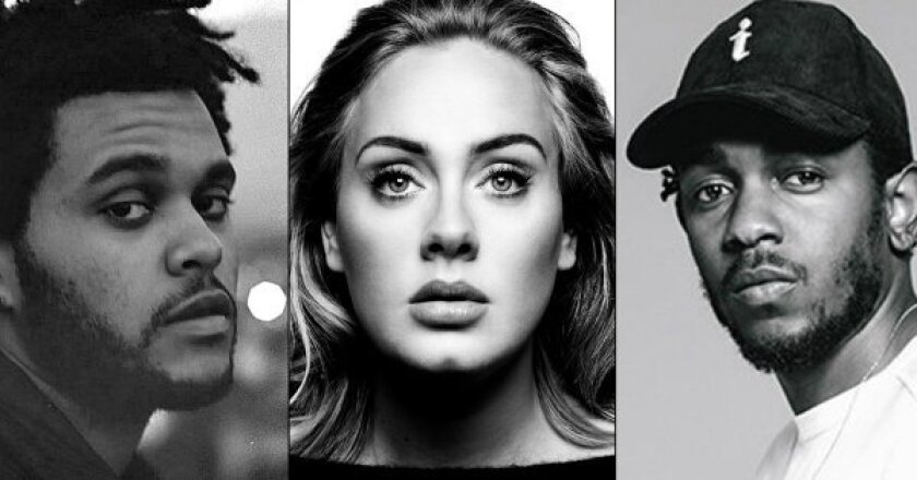 The Weeknd, Adele and Kendrick Lamar will perform at the 58th Grammy Awards.