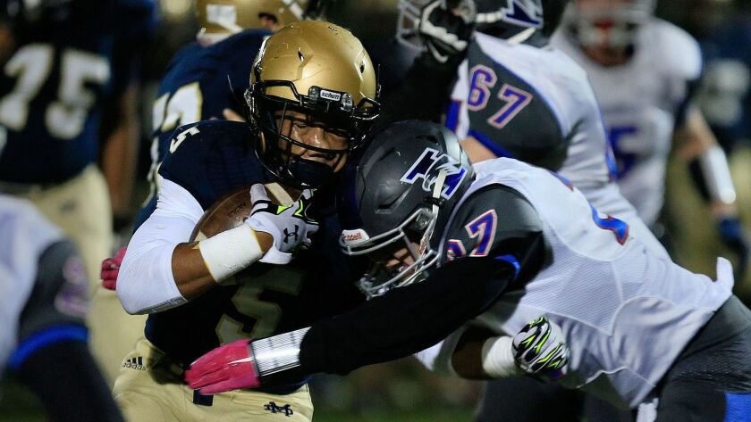 Mater Dei Catholic running back CJ Verdell rushed for 202 yards in the Crusaders' win over Eastlake.