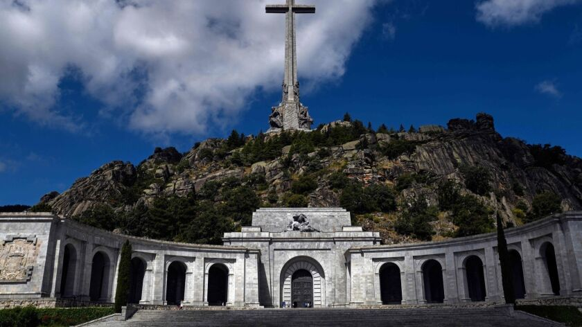 For four decades, Spain's former dictator Francisco Franco has been entombed in this imposing mausoleum outside Madrid. Now, as the country continues to wrestle with Franco's legacy, the government is planning to exhume the dictator's body.