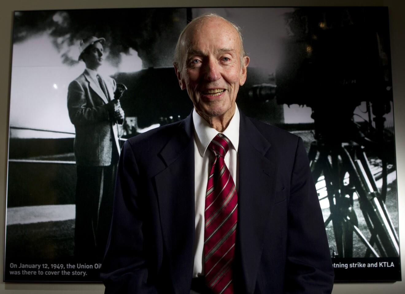 Stan Chambers, 63 years at KTLA News - Los Angeles Times