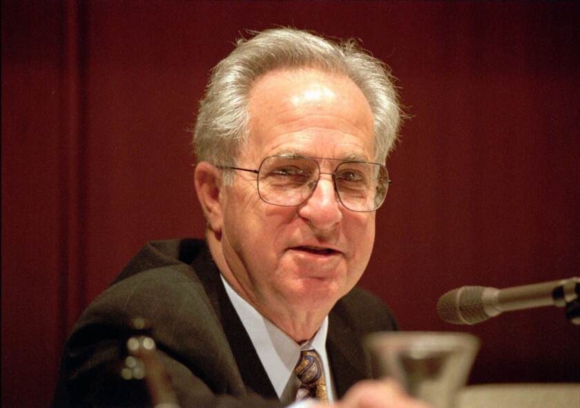 Former University of California system president and UC Irvine chancellor Jack W. Peltason died last week at 91.