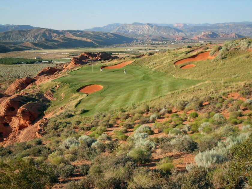 Golf in red rock country: The secret is out - Los Angeles Times
