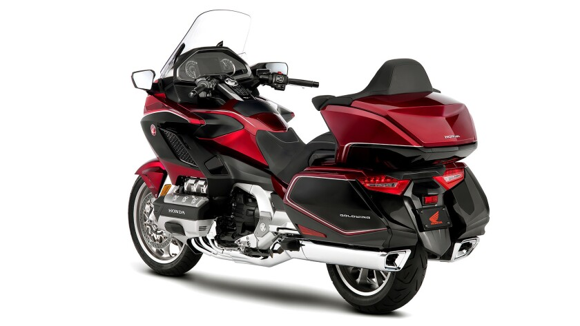2018 Honda Gold Wing is lighter, sportier, more powerful and