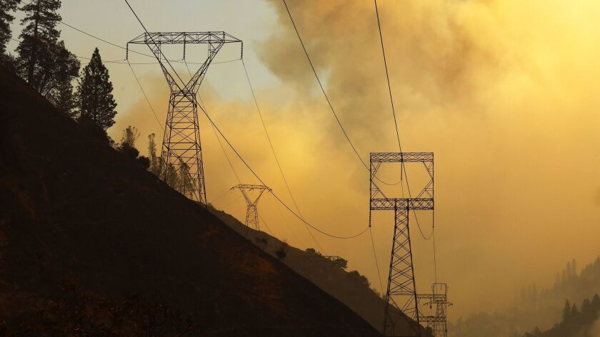 PULGA, CALIFORNIA--NOV. 11, 2018--The investigation continues into the origin of the Camp fire, whic