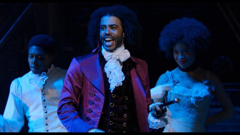 "Daveed Diggs in ""Hamilton."""