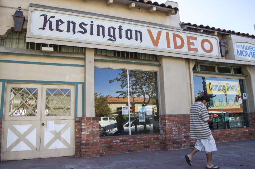 The family-owned Kensington Video, which opened in 1984, will close on Feb. 28.