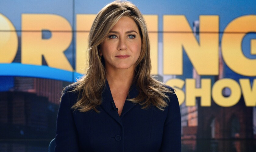"Jennifer Aniston in ""The Morning Show"" on Apple TV+"