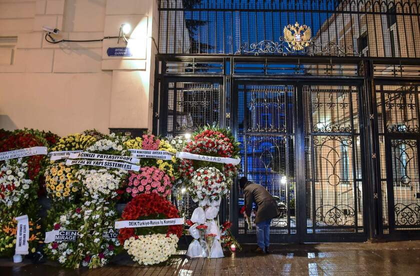 Russian consulate in Istanbul