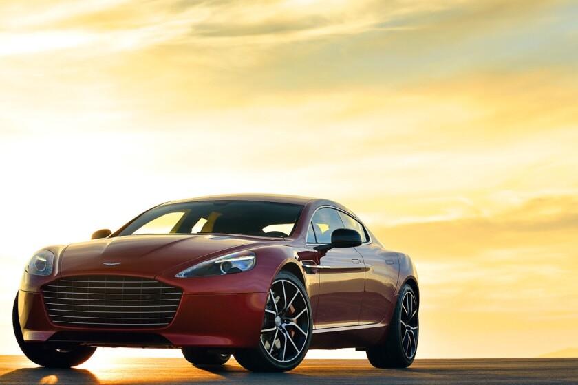 Aston Martin unveils new 550-horsepower Rapide S