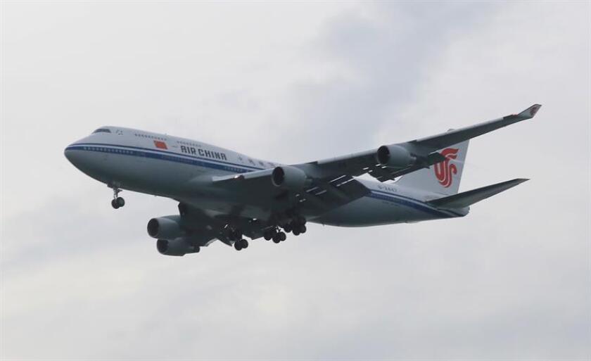 Fotografía de un avión Boeing 747. EFE/Archivo