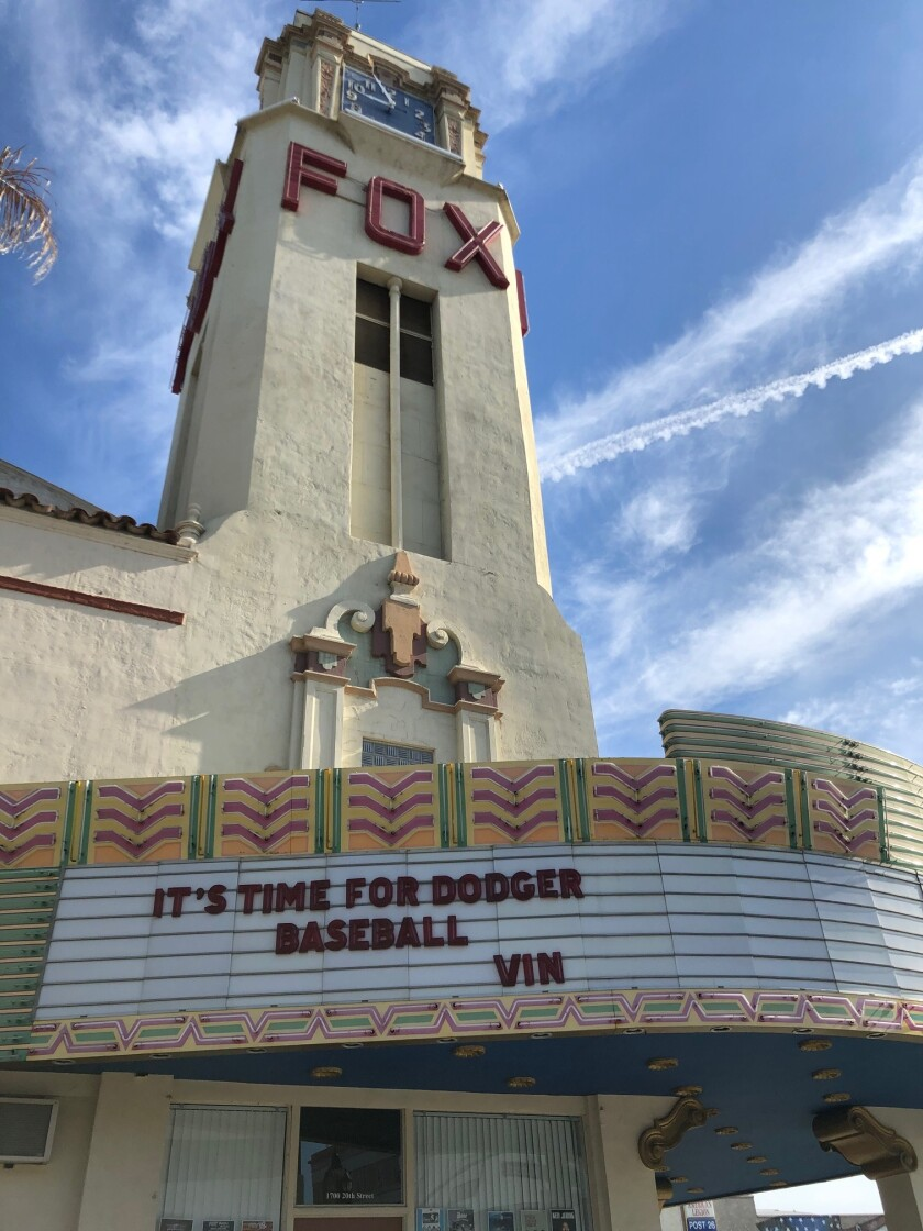 The Fox Theater in Bakersfield.