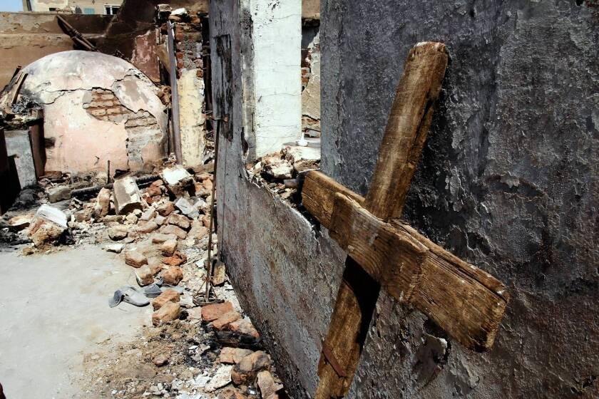 Christian-Muslim animosity becomes incendiary subplot in Egypt