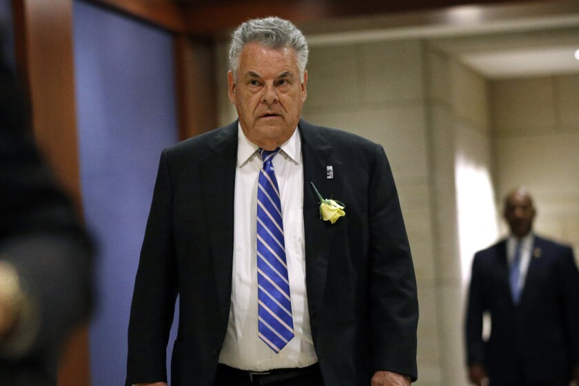 Rep. Peter King, R-N.Y., has shown remarkable resiliency in his 14 terms.