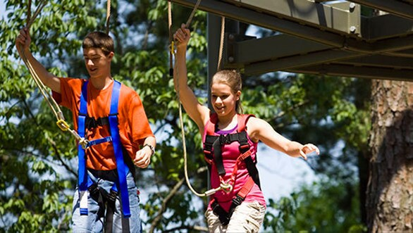 """After only three years in service, Dollywood removed the two-acre Adventure Mountain multi-level rope course to make way for a new attraction coming in 2014 that promises to be a """"blast."""""""