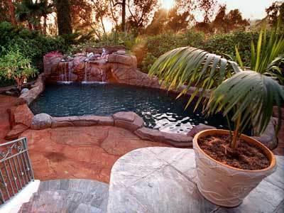 Twila Wolfe's pool.