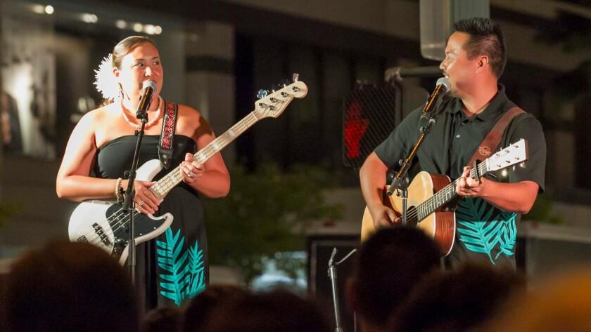 The 2016 Aloha Festival Hoolaulea held on Kalakaua Ave. in Waikiki, Saturday, Sept. 17, 2016, in Hon