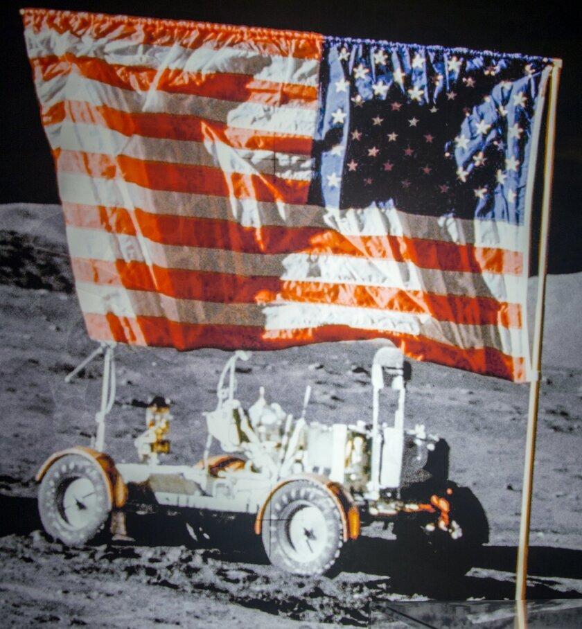 Apollo Lunar Rover — NASA-JPL image at San Diego Air & Space Museum