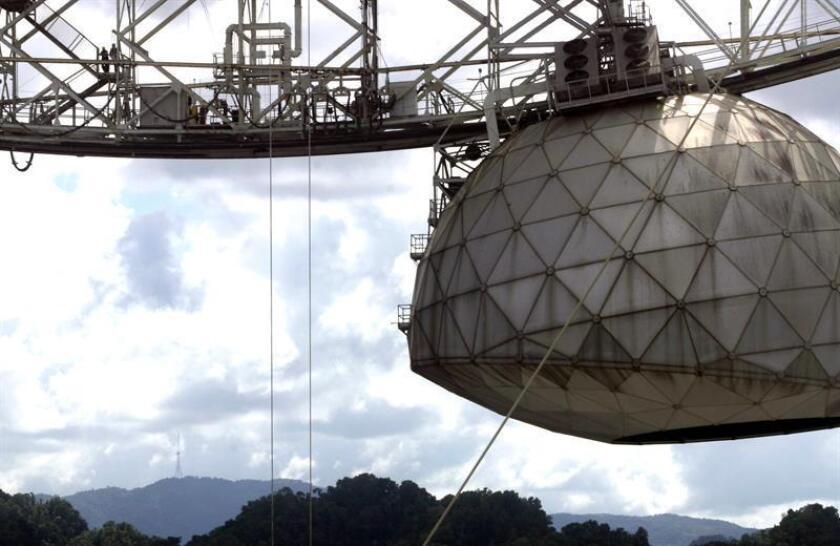 El observatorio de Arecibo, en Puerto Rico, es el más potente del mundo. EFE/Archivo