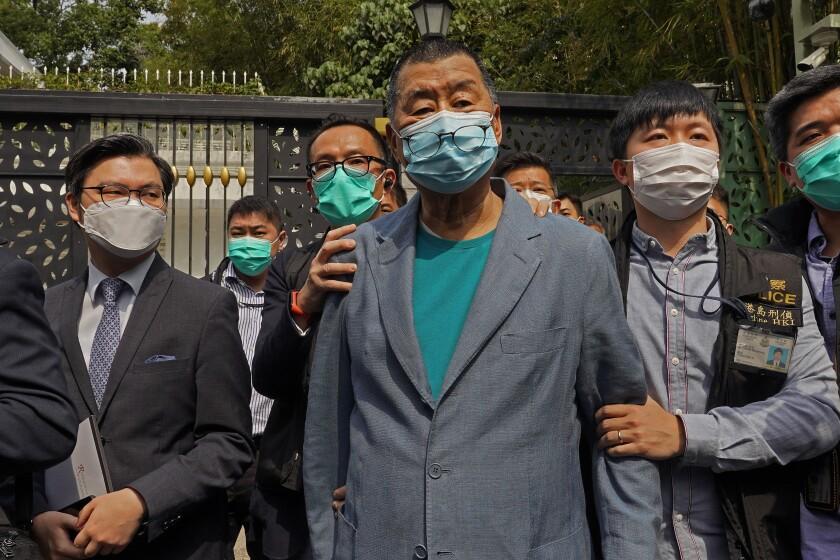 APTOPIX Hong Kong Pro-Democracy Arrests